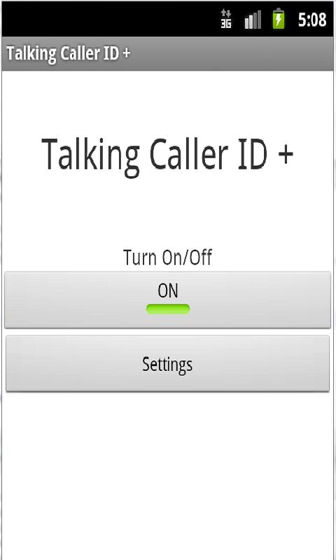 Talking Caller ID + - screenshot