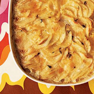Potato Gratin with Duxelles