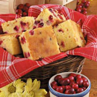 Cranberry Corn Bread.