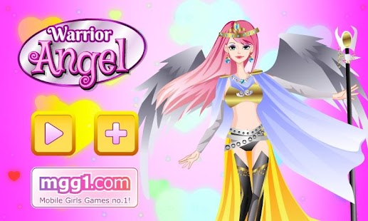 Warrior Angel Dress Up - screenshot thumbnail