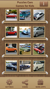 Puzzles Cars Games for Kids Screenshot 1