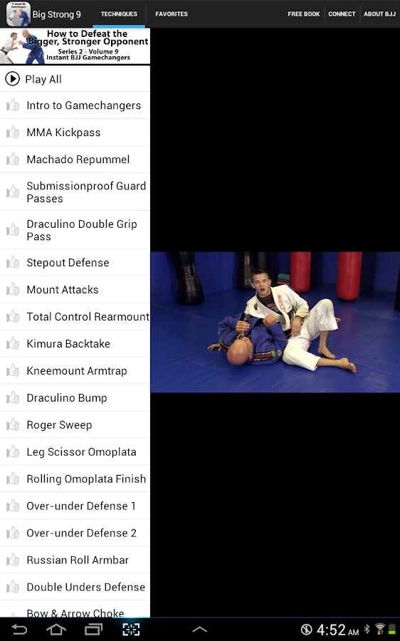 BigStrong9, BJJ Gamechangers - screenshot