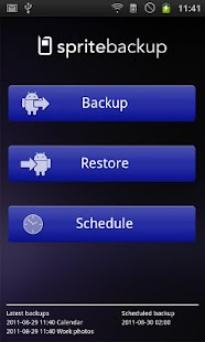 Sprite Backup - screenshot thumbnail