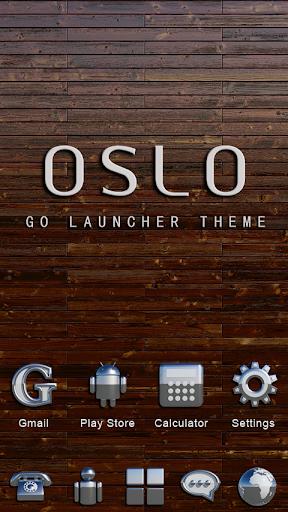 Oslo GO Launcher Ex Theme