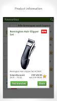 Screenshot of Smartshopper Switzerland