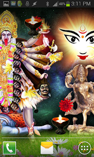 Jai MAA KALI HQ Live Wallpaper- screenshot thumbnail
