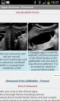 Screenshot of Upper Abdominal Ultrasound