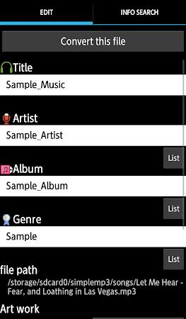 TK Music Tag Editor 7.1.7 screenshot 393897