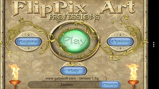 FlipPix Art - Professions