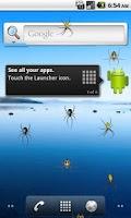 Screenshot of Spider Prank