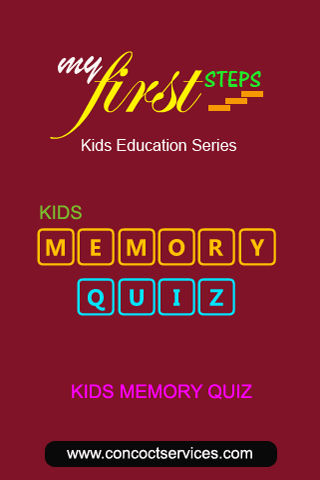 Best Memory Game - Kids