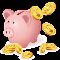 貯まる家計簿 無料版 icon