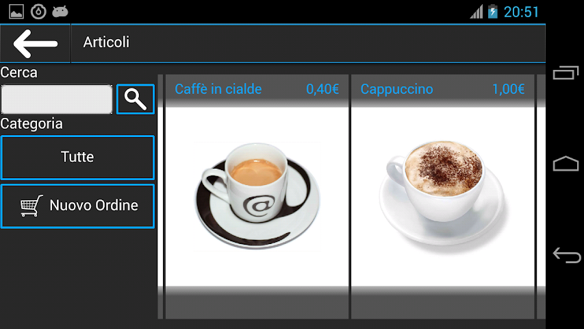 Screenshots for Catalogo Agenti Falco