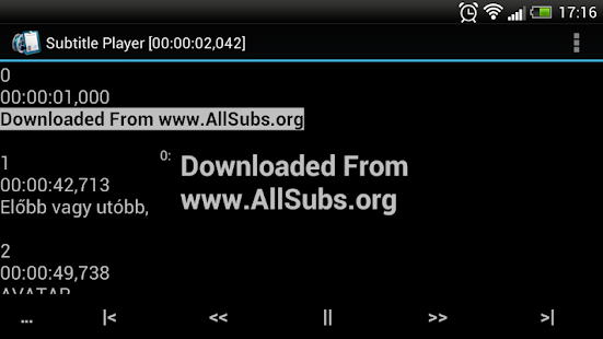 SubtitlePlayer- screenshot thumbnail