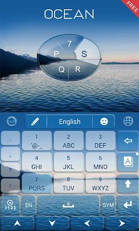 Ocean Emoji GO Keyboard Theme 1.85.5.82 screenshot 189092