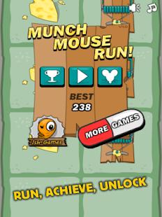 Munch Mouse Run
