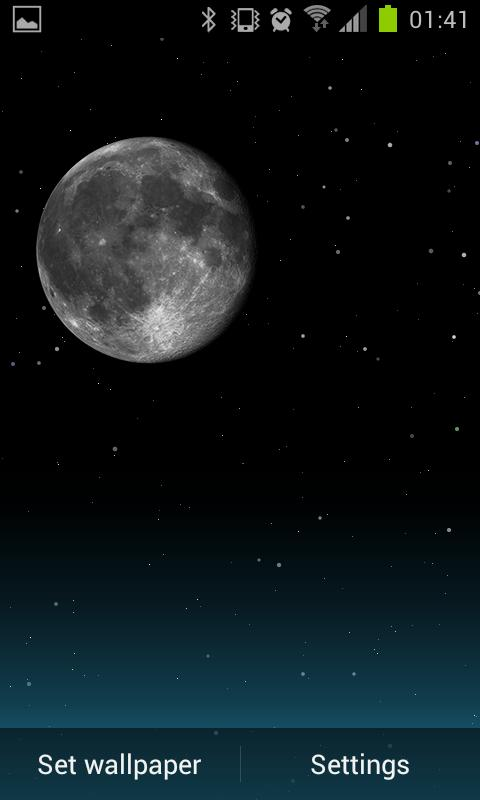 Night Sky LITE Live Wallpaper- screenshot