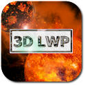 3D Space Live Wallpaper Pro icon