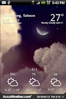 Screenshot of 9s-Weather Theme+(Nature)