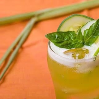 Cucumber-Basil Lemonade with Lemongrass