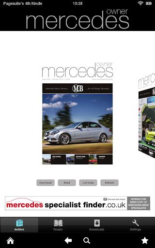 Mercedes Owner Magazine
