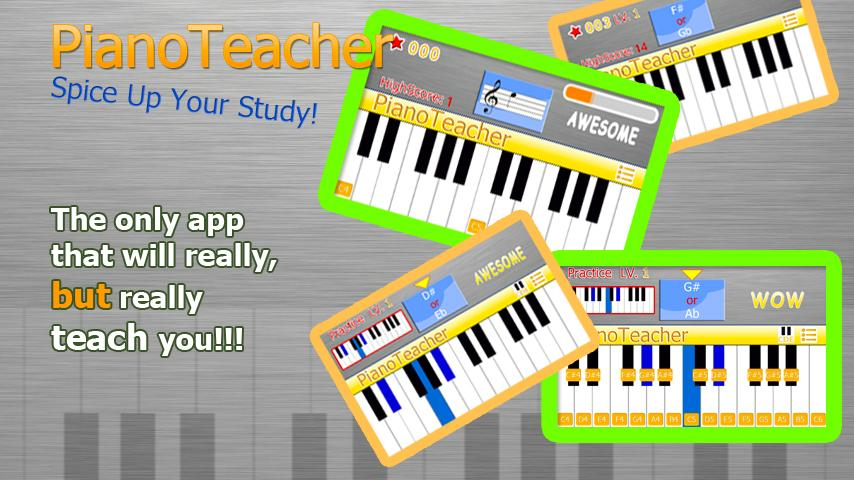 PianoTeacher Free Learn Chords - screenshot