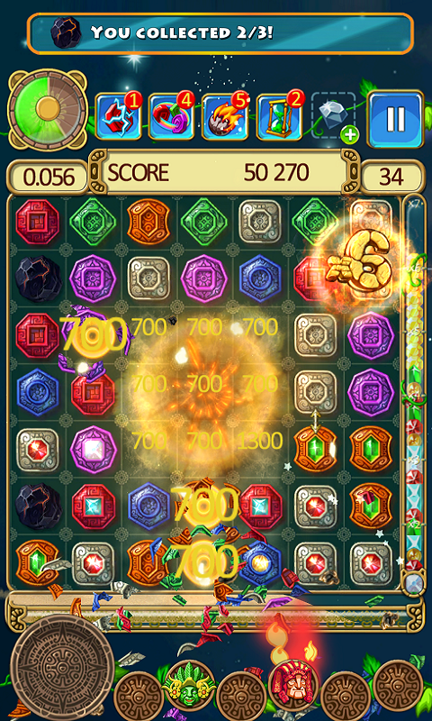 Montezuma Blitz - screenshot