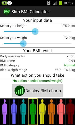 Slim BMI Calculator
