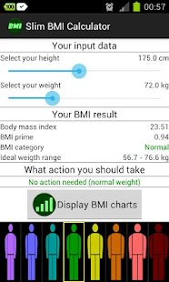Slim BMI Calculator - screenshot thumbnail