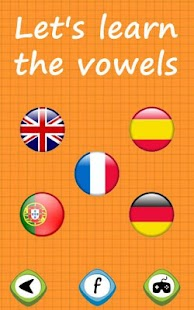 Learn the vowels for toddlers- screenshot thumbnail