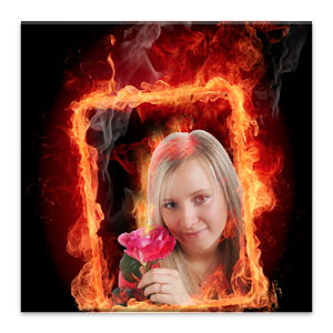 Photo Fire Effects Icon