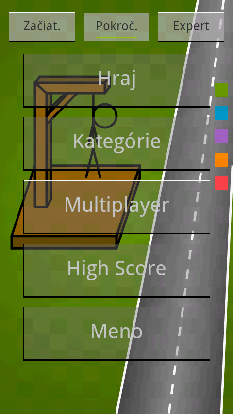 Obesenec SK- screenshot