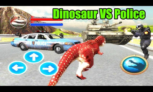 警察恐龍3D模擬器