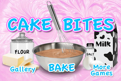 Cake Bites Make and Bake FREE