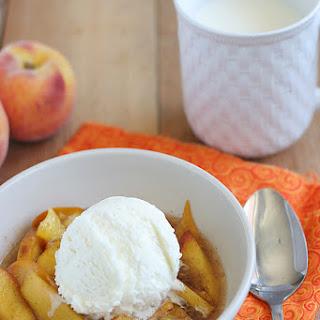 Scalloped Peaches