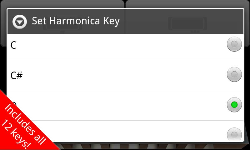 Harmonica: Free Edition! - screenshot