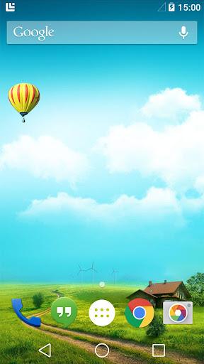 Balloon Tour Live Wallpaper