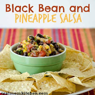 Black Bean and Pineapple Salsa.