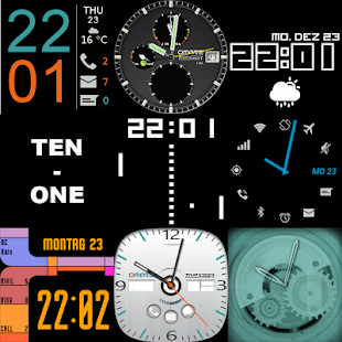 27 Watch faces for Wear & Sony- screenshot thumbnail