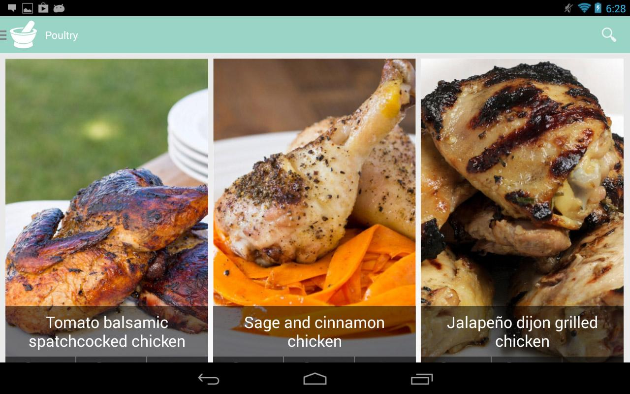 Caveman Feast - Paleo recipes- screenshot