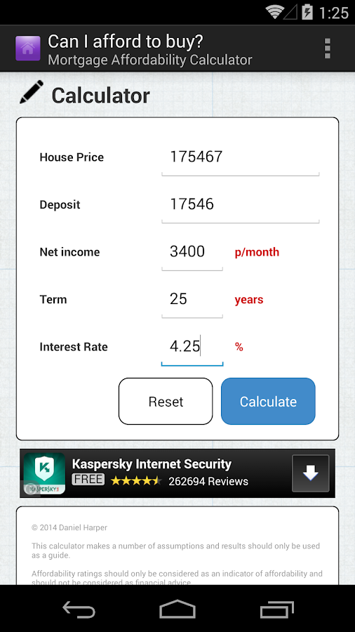 Mortgage Calculator UK- screenshot