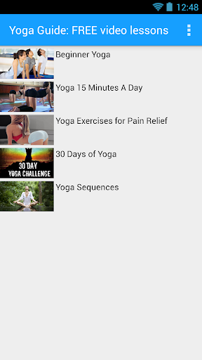 Yoga Guide: FREE Video Lessons