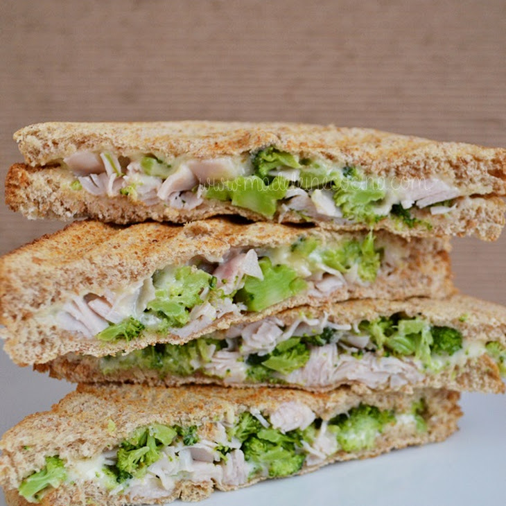 Ham Sandwiches with Broccoli and Cheese Recipe
