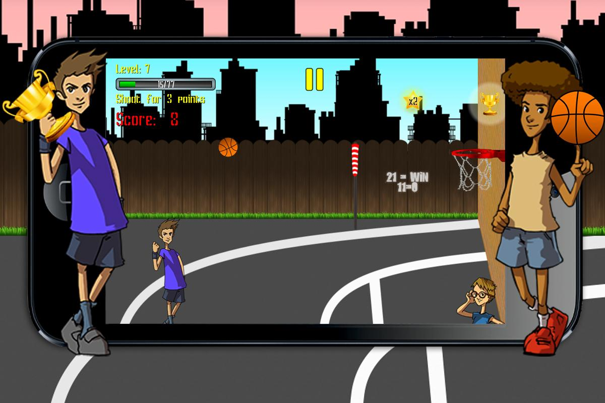 21 Point Basket Ball- screenshot