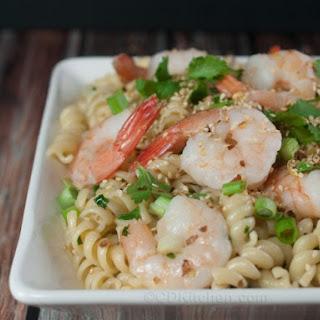Shrimp & Pasta Stir Fry