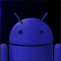 GO SMS Dark Blue Theme icon