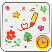 CRAYON Clock Widget