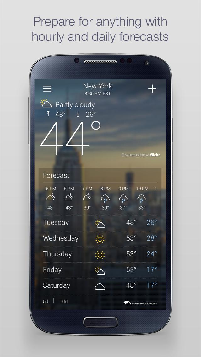 Yahoo Weather screenshot #2