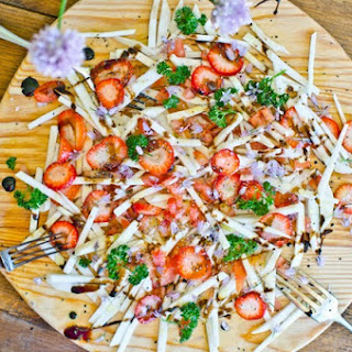 Turnip and Strawberry Salad