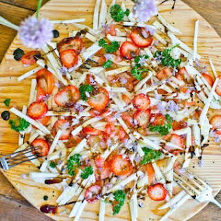 Turnip and Strawberry Salad.